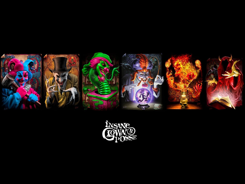 Music Wallpaper: Insane Clown Posse