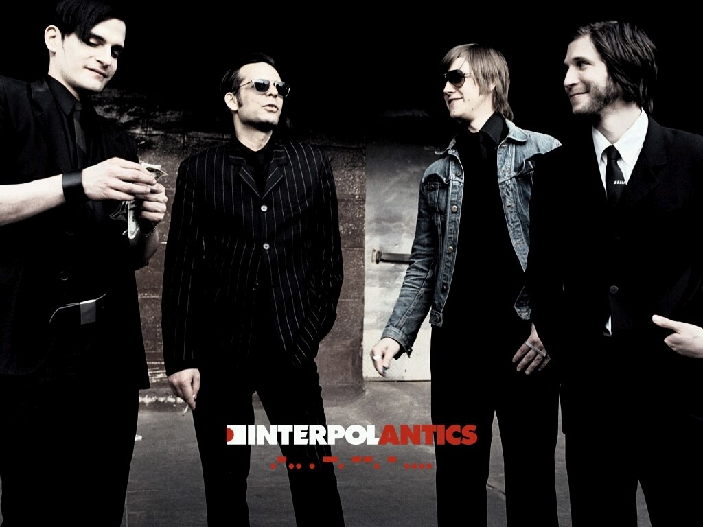 Music Wallpaper: Interpol - Antics