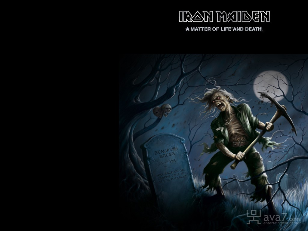 Music Wallpaper: Iron Maiden - A Matter of Life and Death