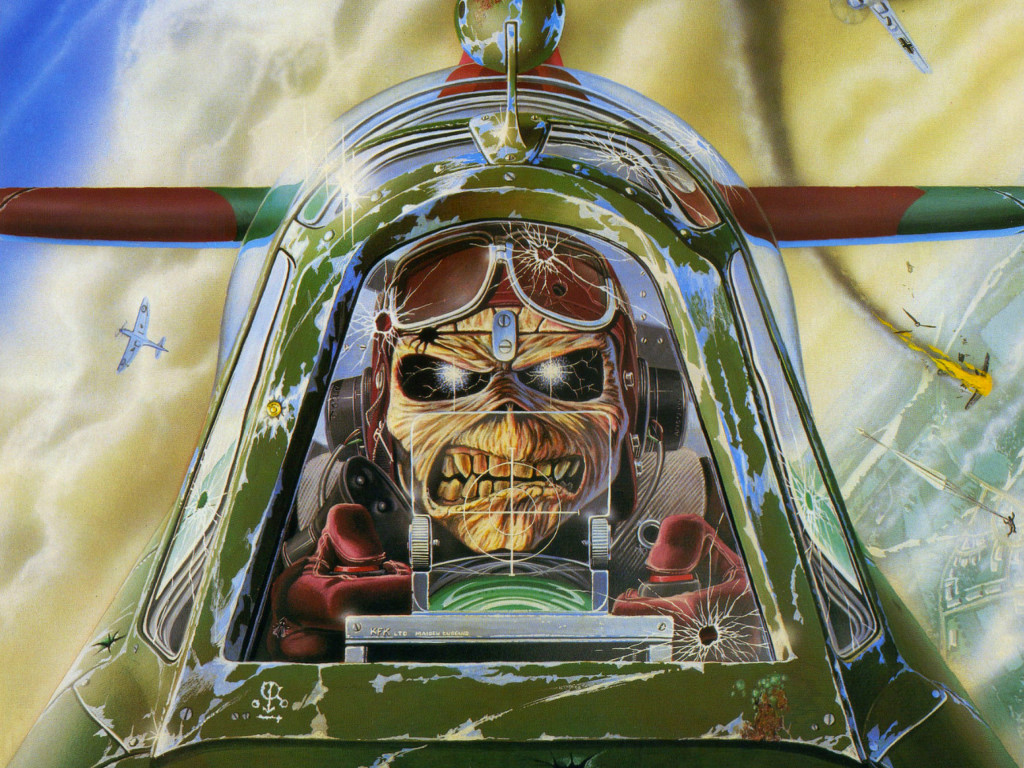 Music Wallpaper: Iron Maiden - Aces High