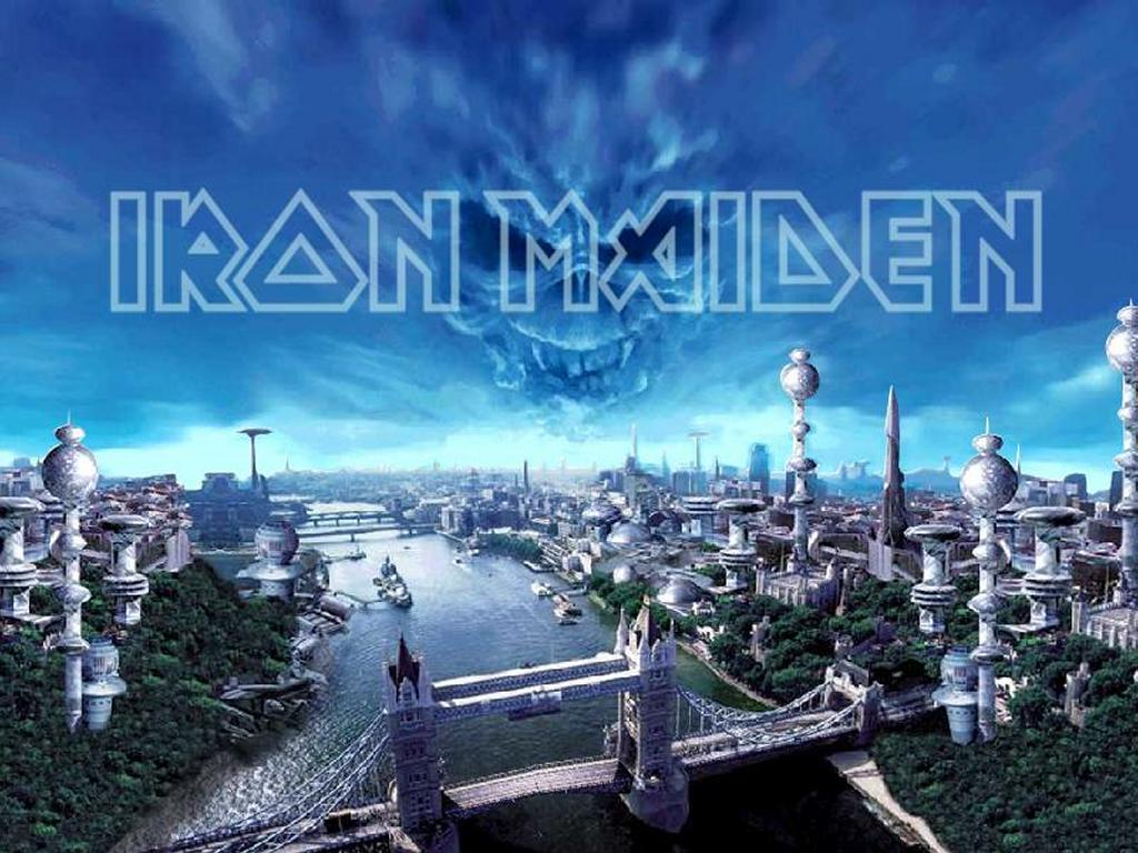 Music Wallpaper: Iron Maiden - Brave New World