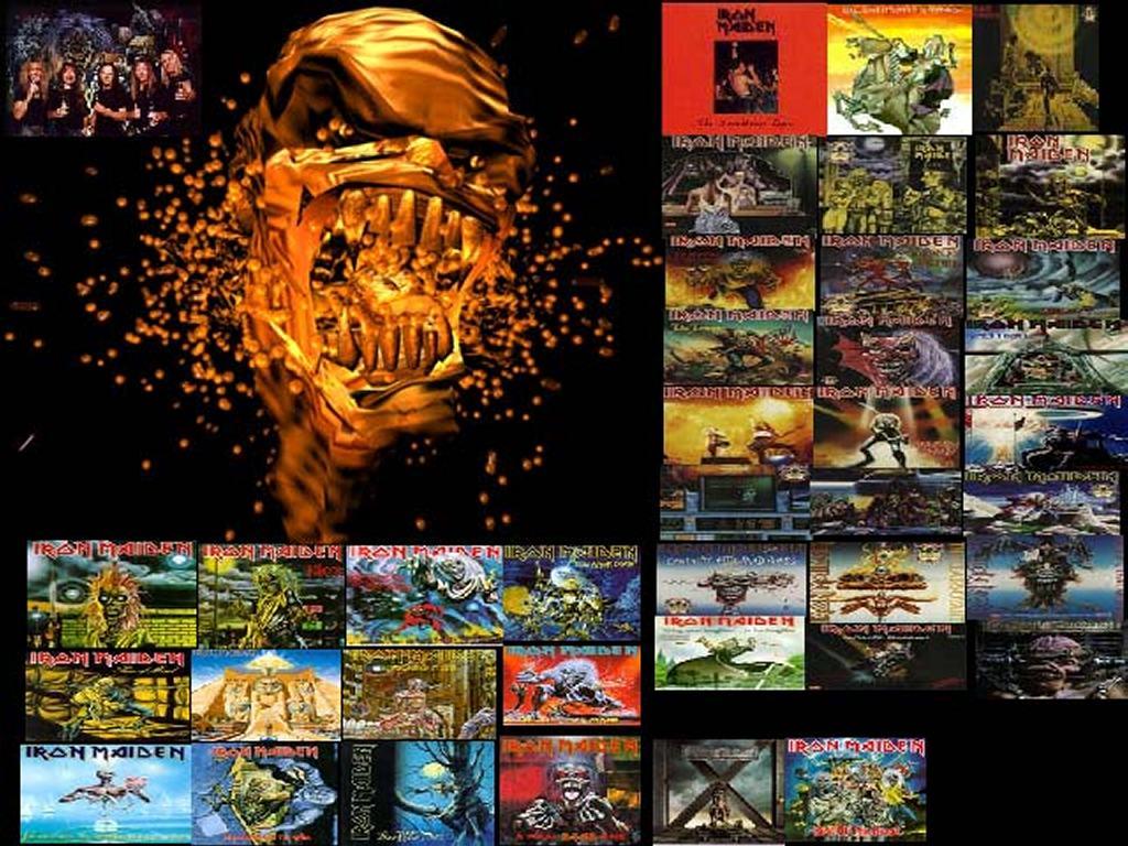 Music Wallpaper: Iron Maiden - Covers