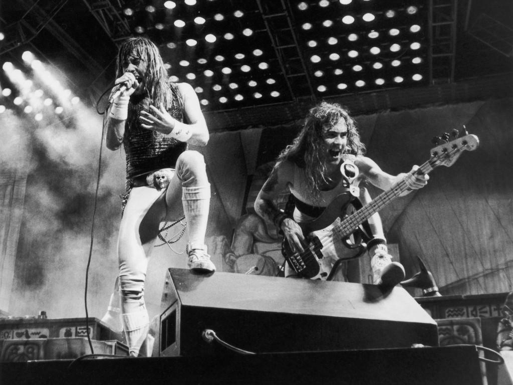 Music Wallpaper: Iron Maiden - Early Years