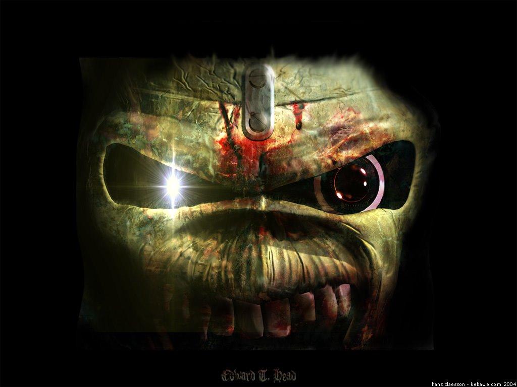 Music Wallpaper: Iron Maiden - Eddie (by Kebawe)