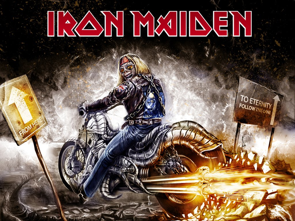 Music Wallpaper: Iron Maiden - From Here to Eternity