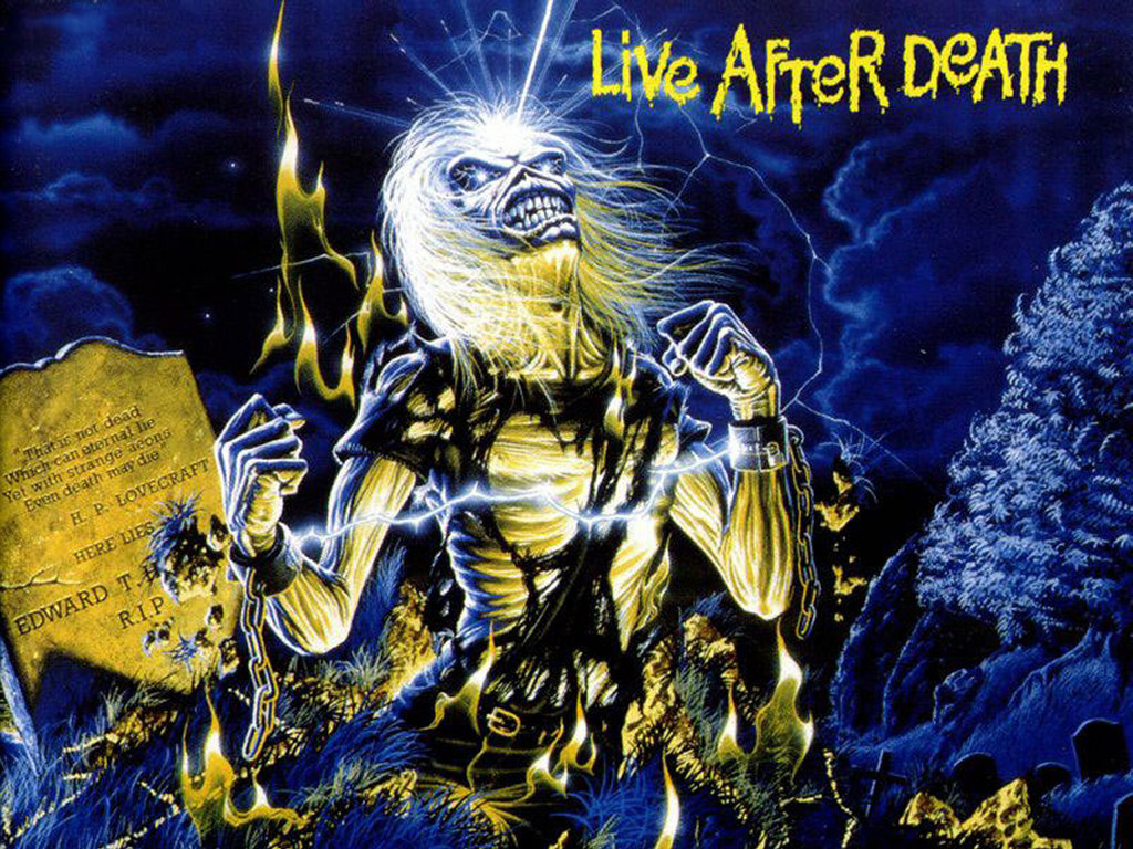 Music Wallpaper: Iron Maiden - Live After Death