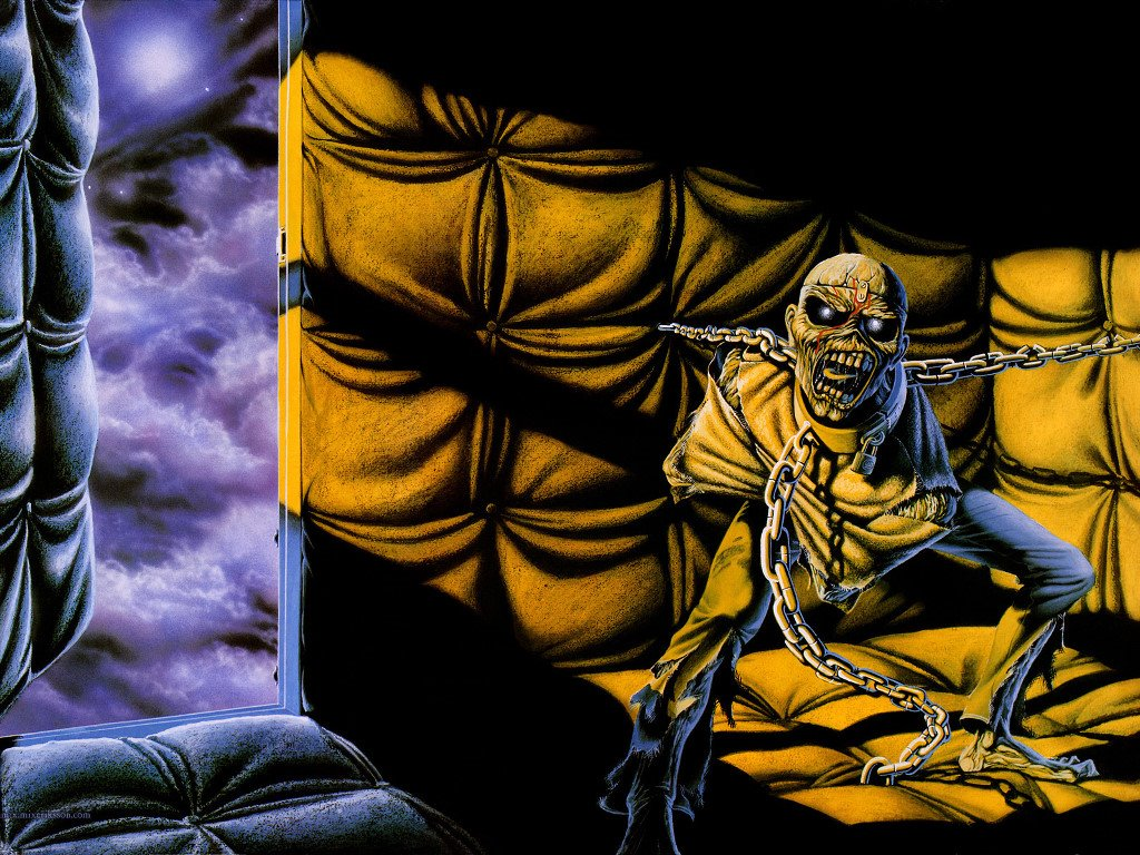 Music Wallpaper: Iron Maiden - Piece of Mind