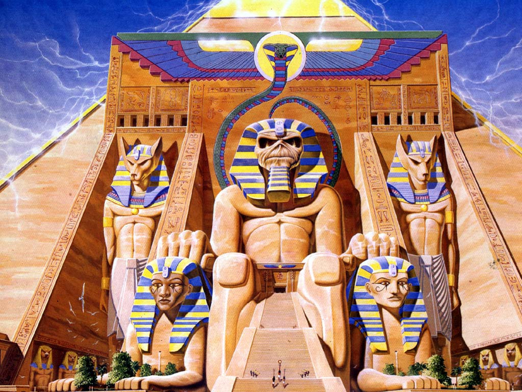 Music Wallpaper: Iron Maiden - Powerslave