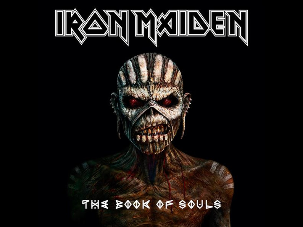 Music Wallpaper: Iron Maiden - The Book of Souls