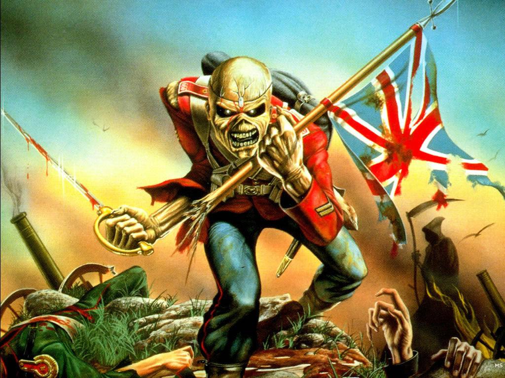 Music Wallpaper: Iron Maiden - The Trooper