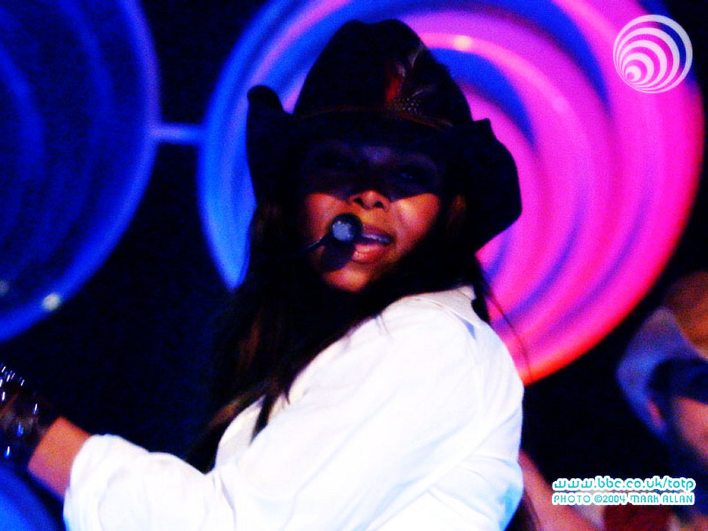 Music Wallpaper: Janet Jackson