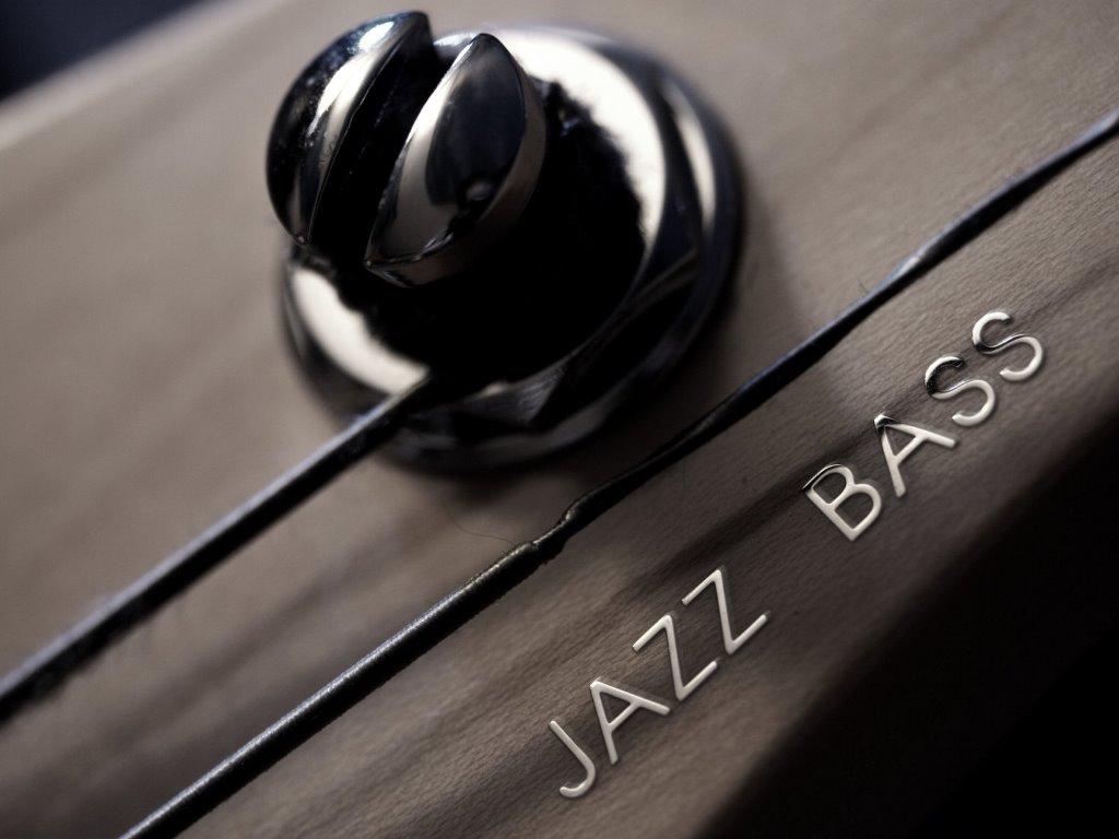 Music Wallpaper: Jazz Bass