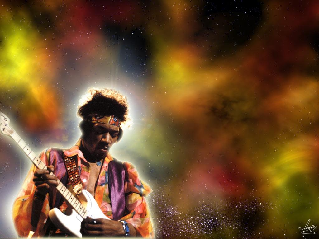 Music Wallpaper: Jimi Hendrix