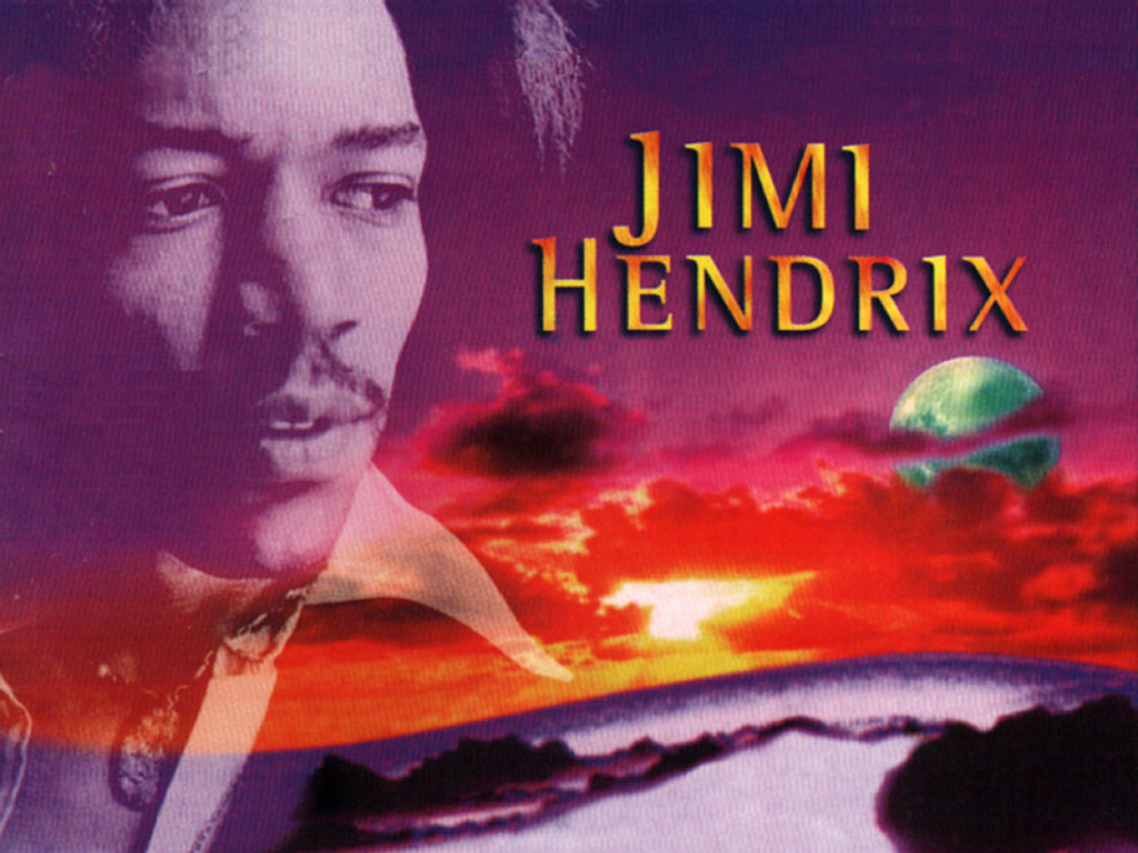 Music Wallpaper: Jimi Hendrix