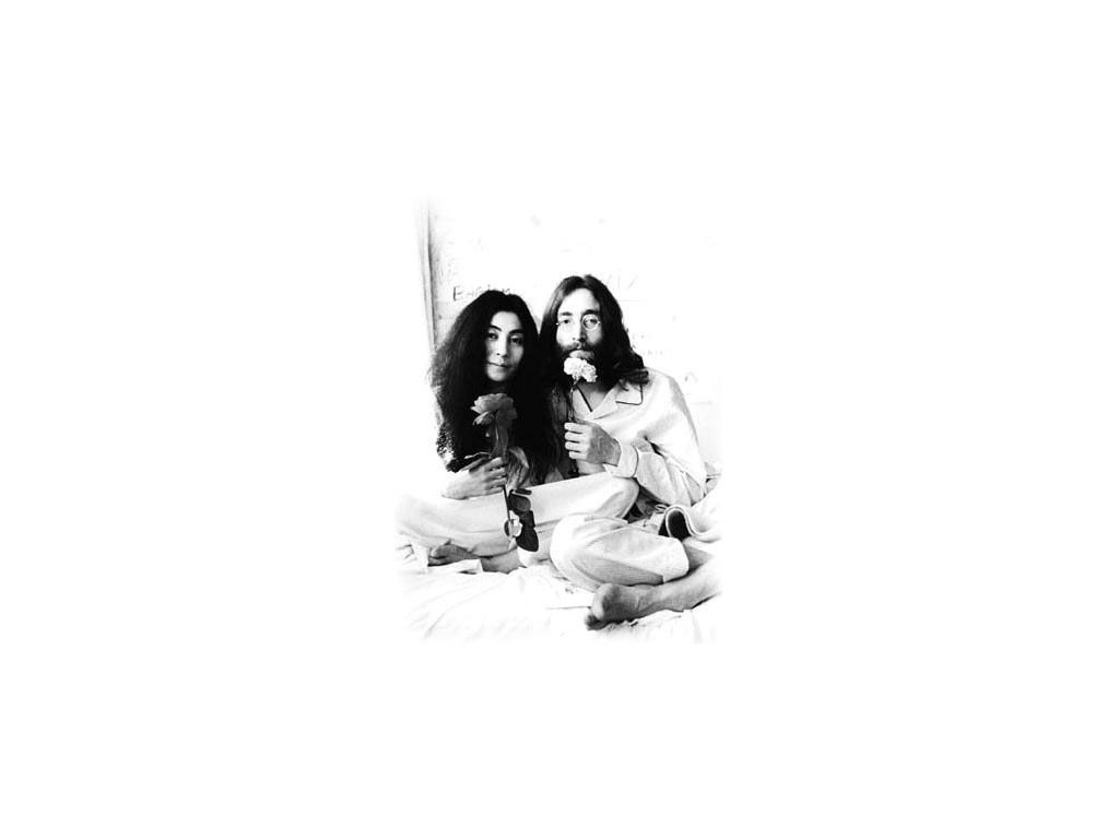 Music Wallpaper: John and Yoko
