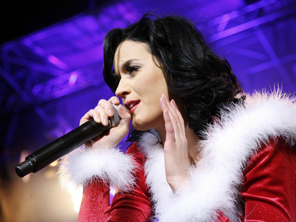 Music Wallpaper: Katy Perry - Christmas
