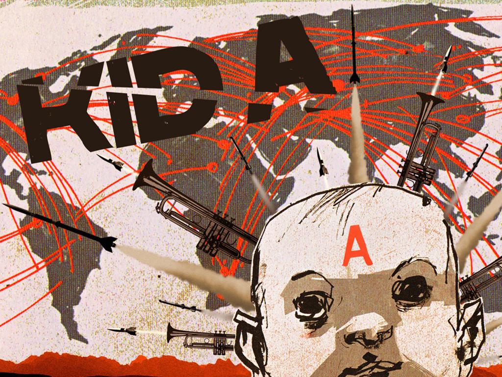 Music Wallpaper: Radiohead - Kid A