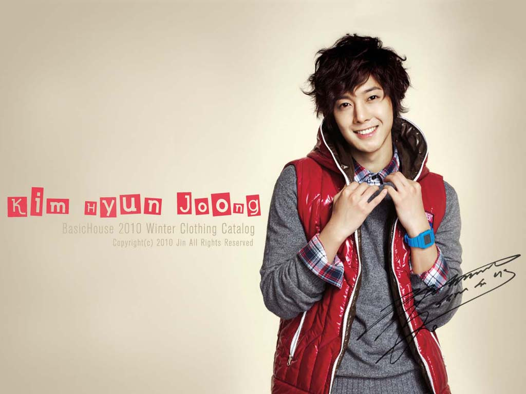 Music Wallpaper: Kim Hyun-joong