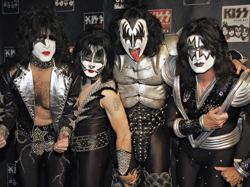 Music Wallpaper: Kiss - Backstage