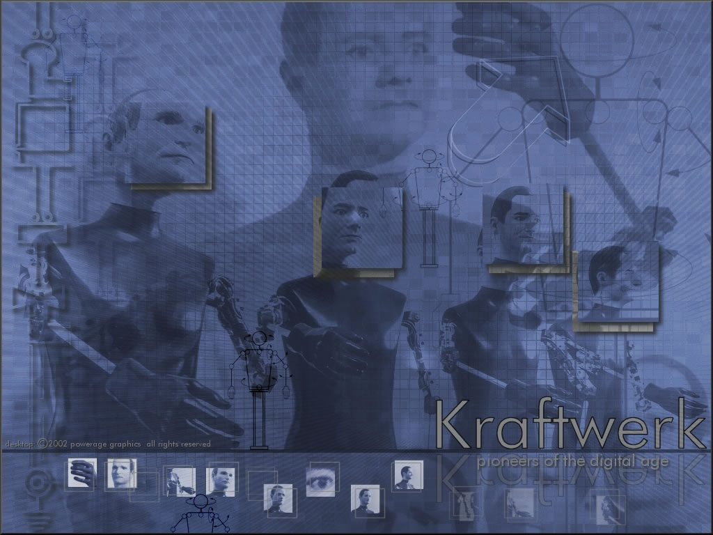 Music Wallpaper: Kraftwerk