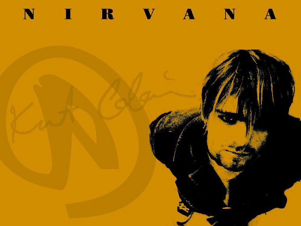 Music Wallpaper: Kurt Cobain