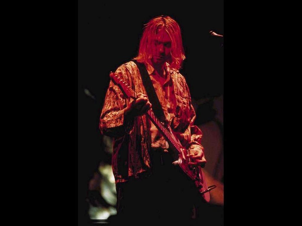 Music Wallpaper: Kurt Cobain