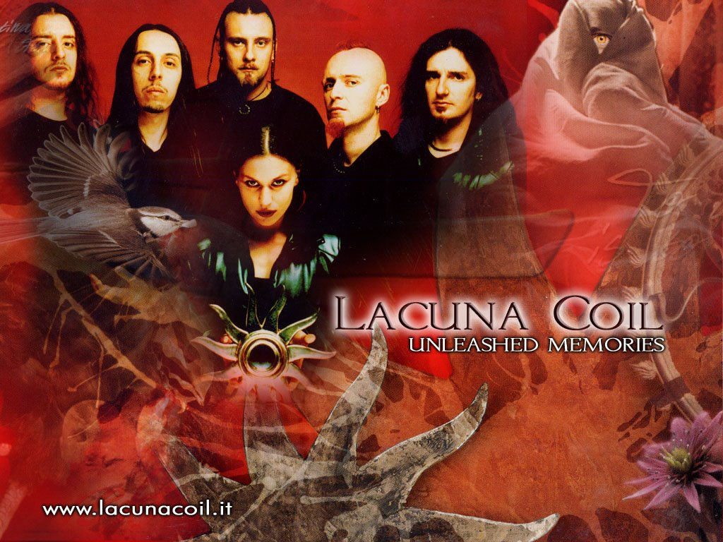 Music Wallpaper: Lacuna Coil - Unleashed Memories