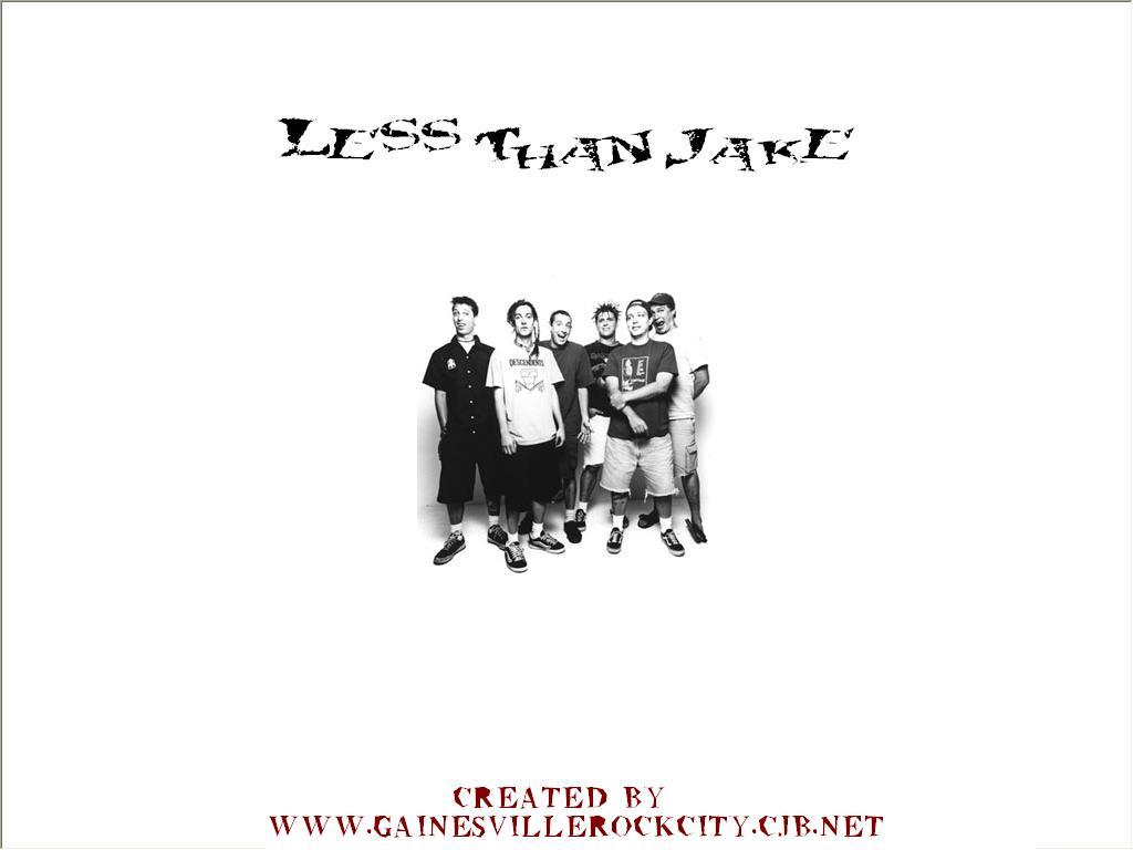 Music Wallpaper: Less than Jake