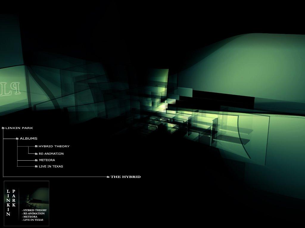 Music Wallpaper: Linkin Park - The Hybrid