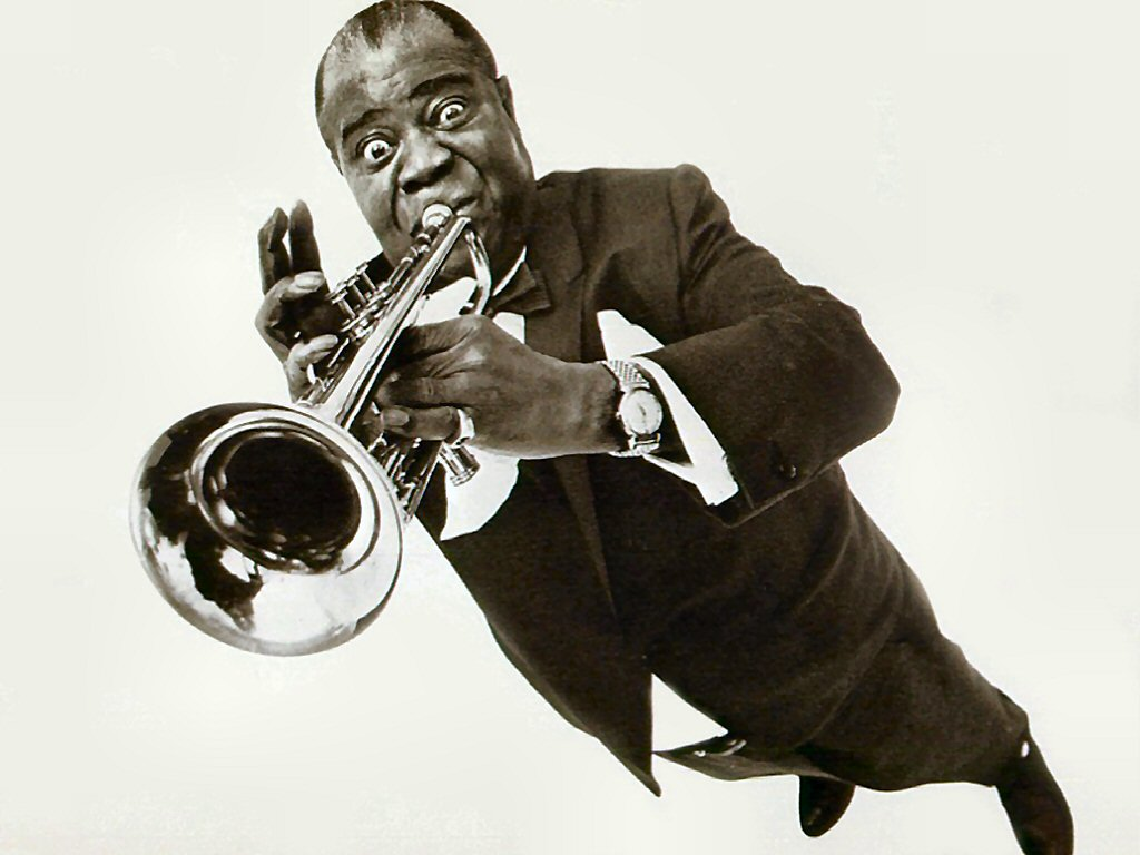 Music Wallpaper: Louis Armstrong