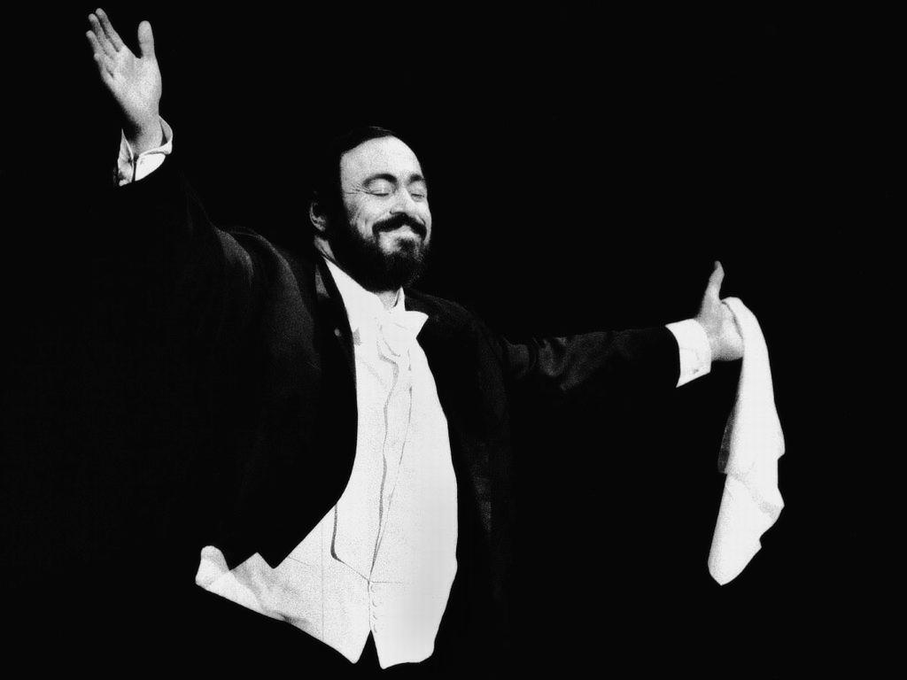 Papel de Parede Gratuito de Música : Luciano Pavarotti