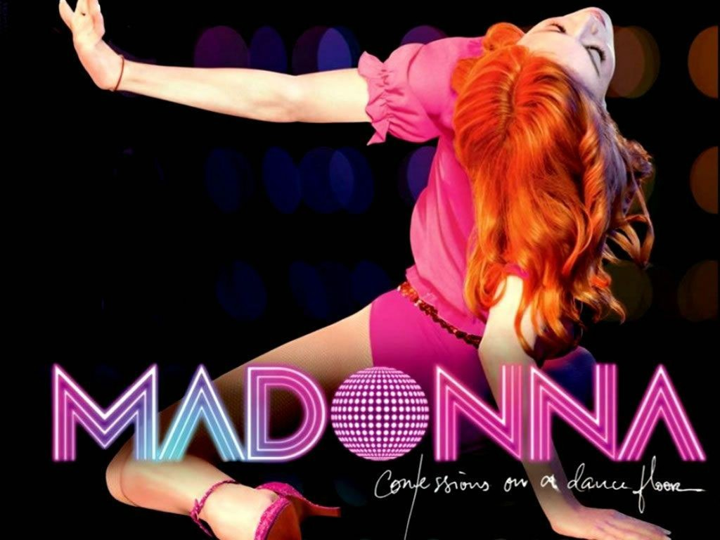 Music Wallpaper: Madonna - Confessions on a Dance Floor