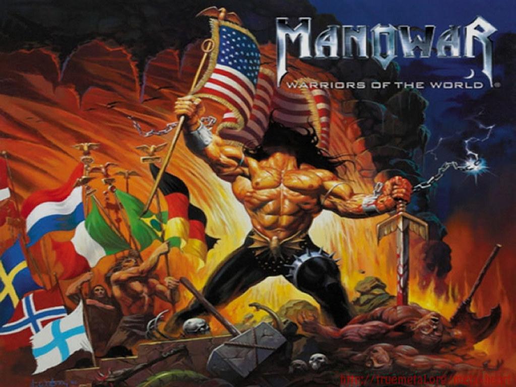 Music Wallpaper: Manowar - Warriors of the World
