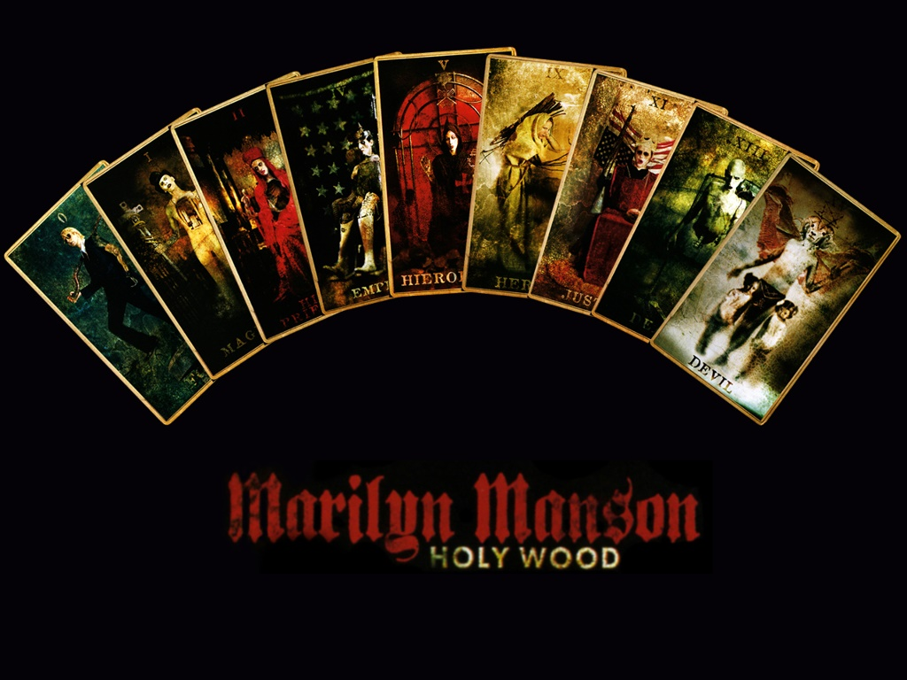 Music Wallpaper: Marilyn Manson - Hollywood