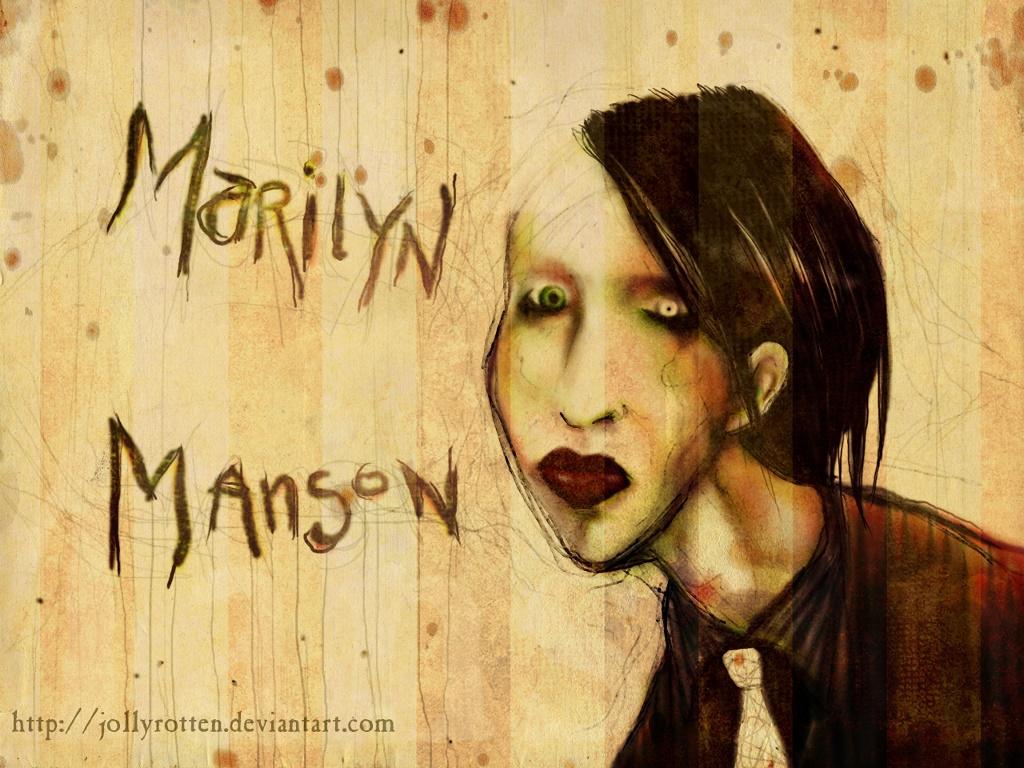 Music Wallpaper: Marilyn Manson
