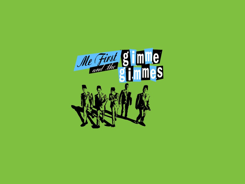Music Wallpaper: Me First and The Gimme Gimmes