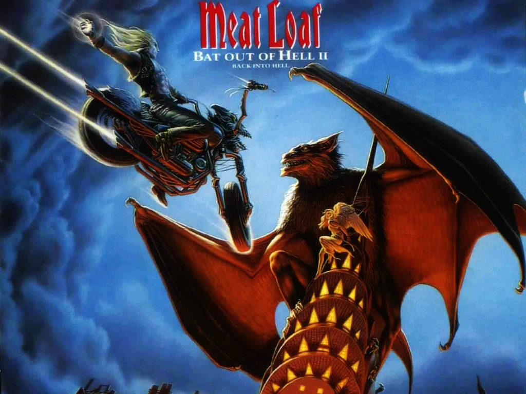 Music Wallpaper: Meat Loaf - Bat Out of Hell II