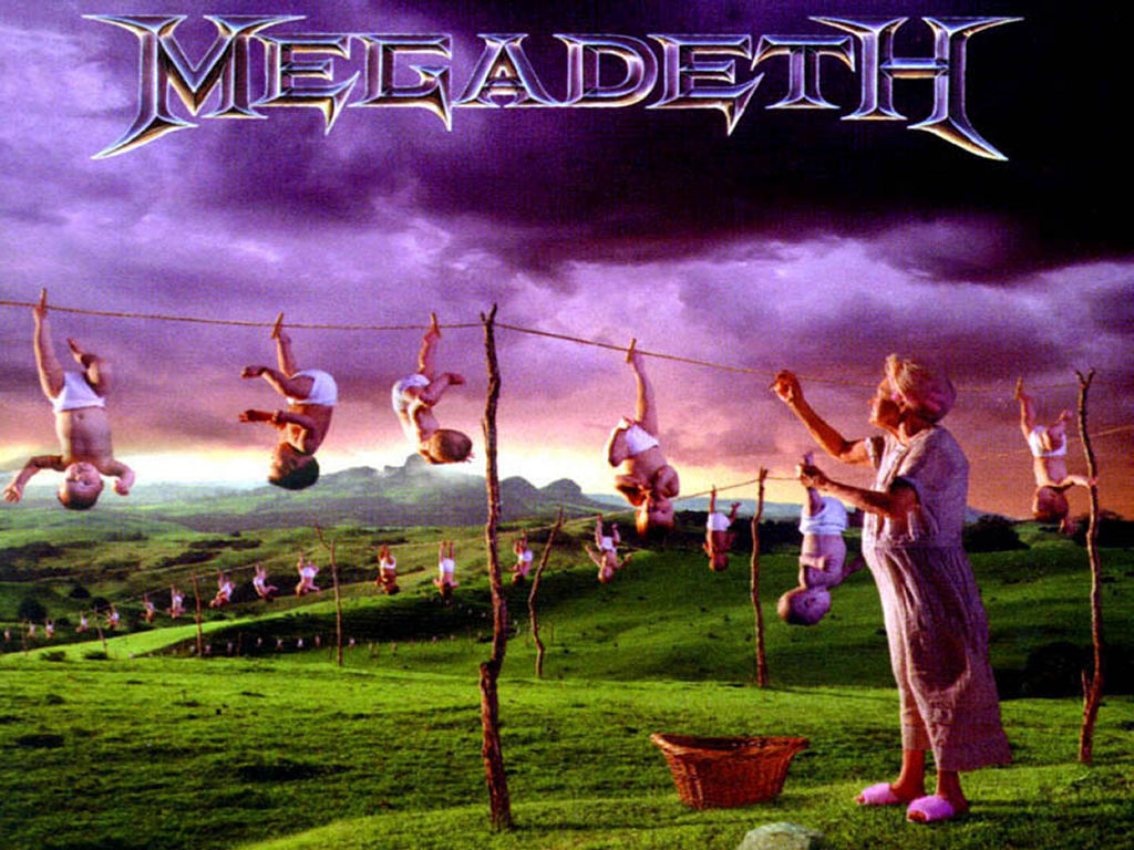 Music Wallpaper: Megadeth - Youthanasia