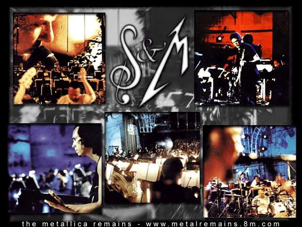 Music Wallpaper: Metallica - Collage