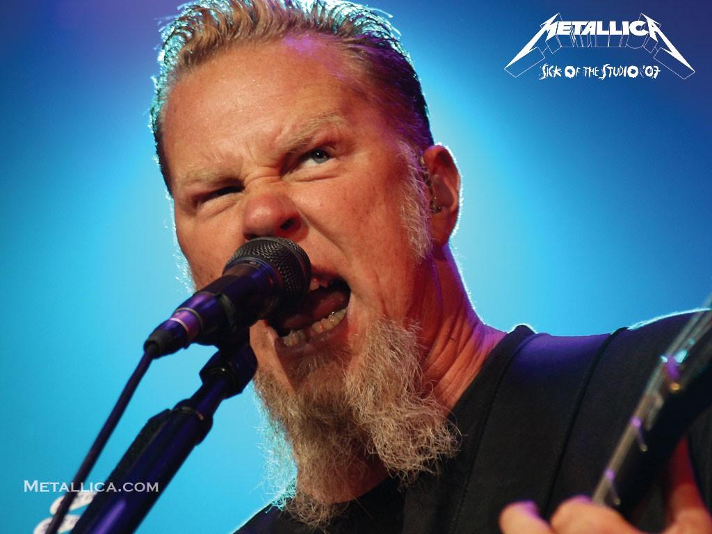 Music Wallpaper: Metallica - James Hetfield