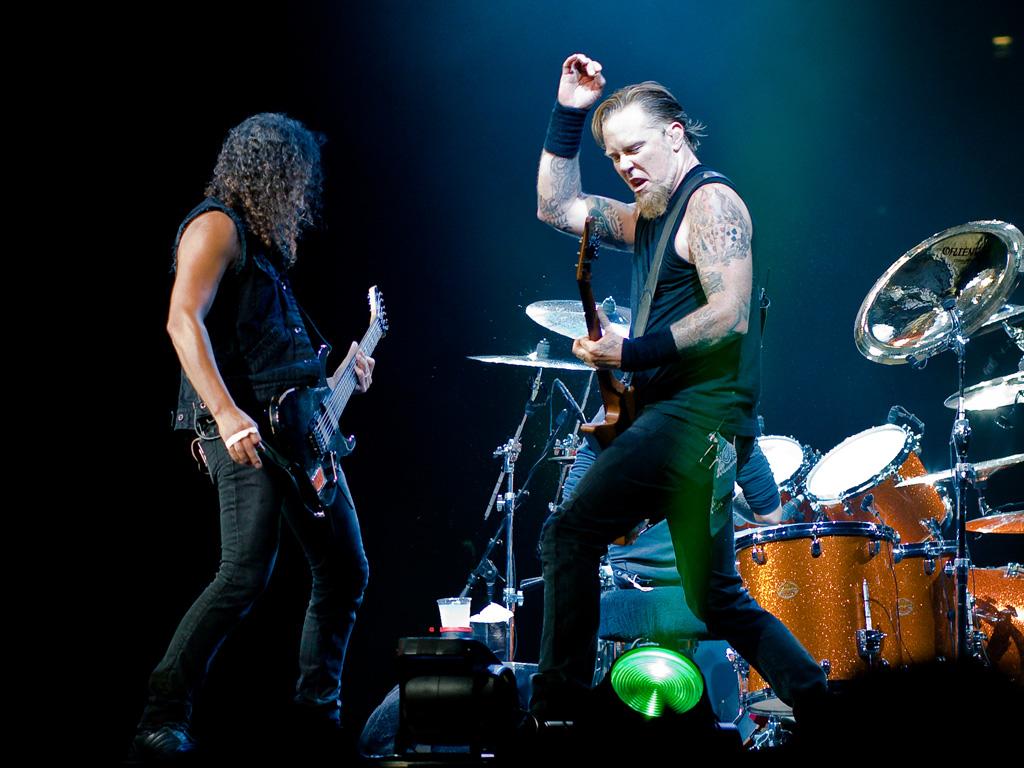 Music Wallpaper: Metallica - London 2008