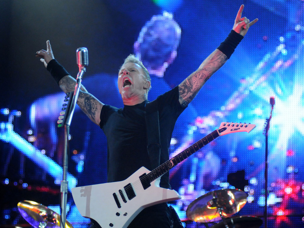 Music Wallpaper: Metallica - Rock in Rio 2011