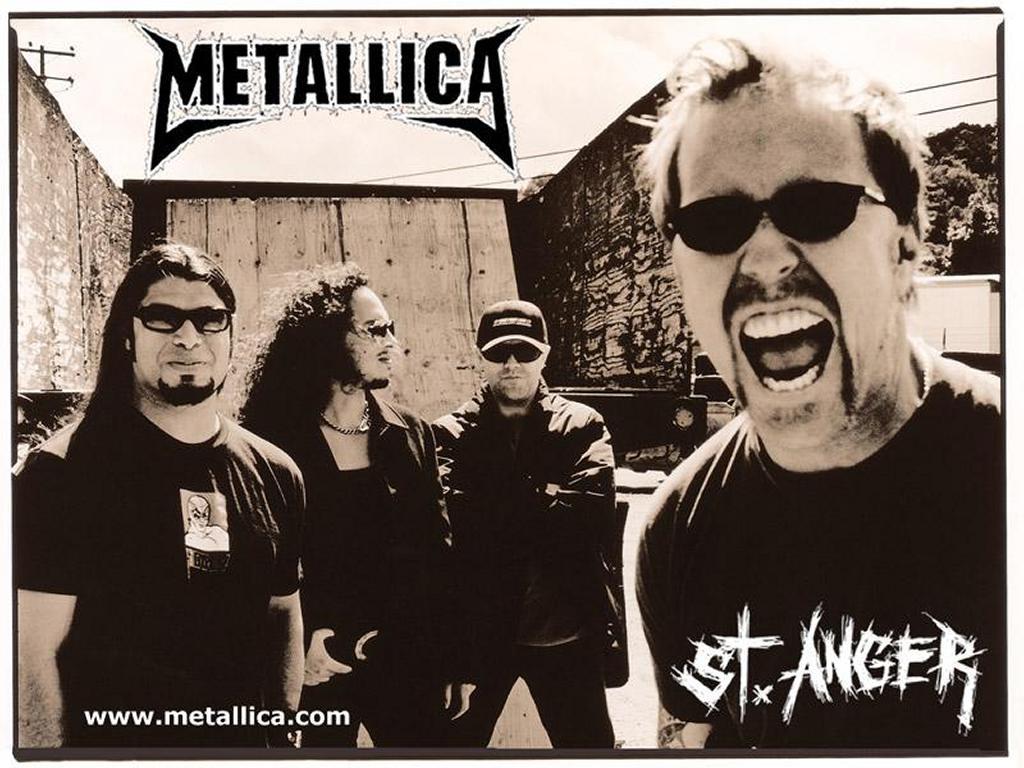 Music Wallpaper: Metallica - St. Anger
