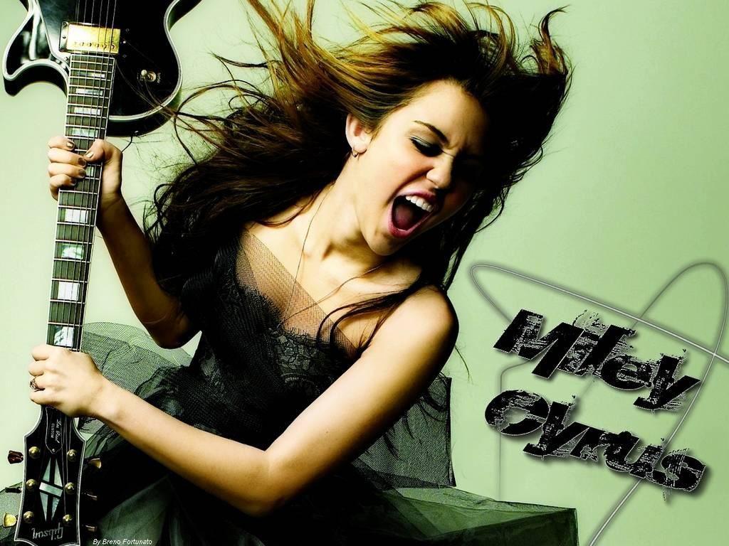 Papel de Parede Gratuito de Música : Miley Cyrus