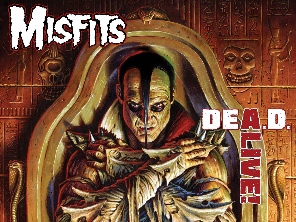 Music Wallpaper: Misfits - Dead Alive