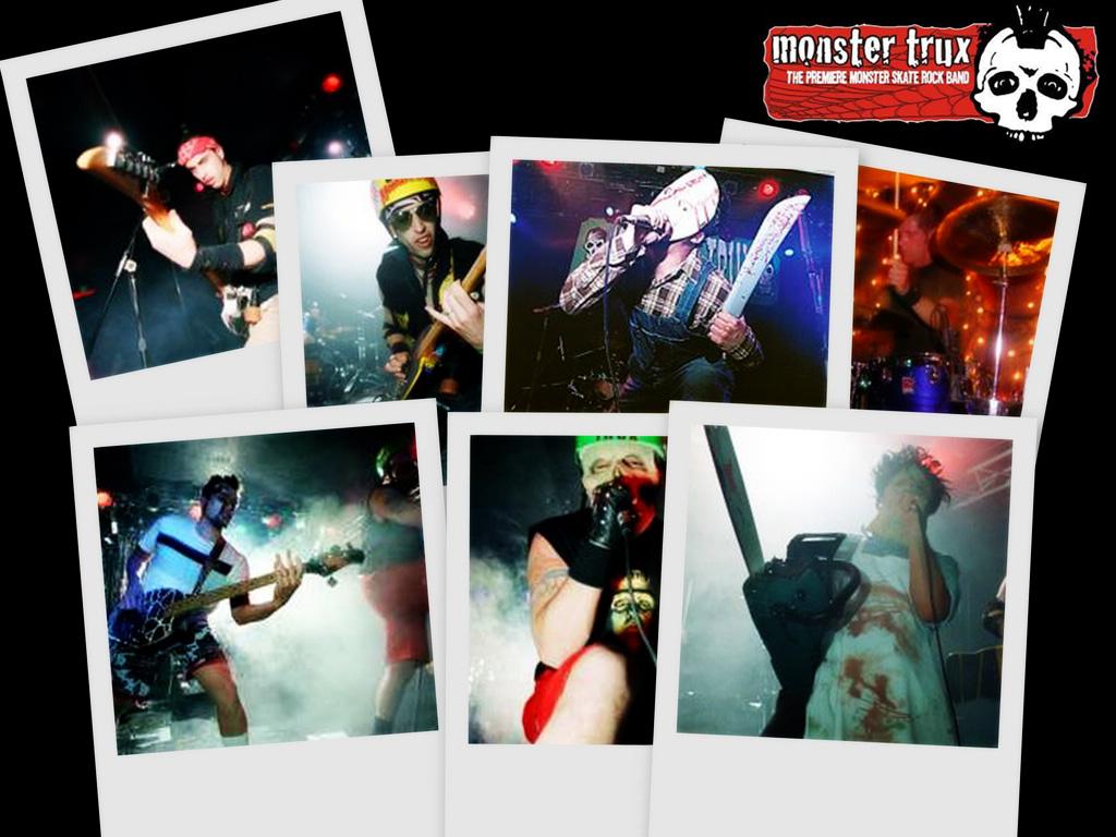Music Wallpaper: Monster Trux