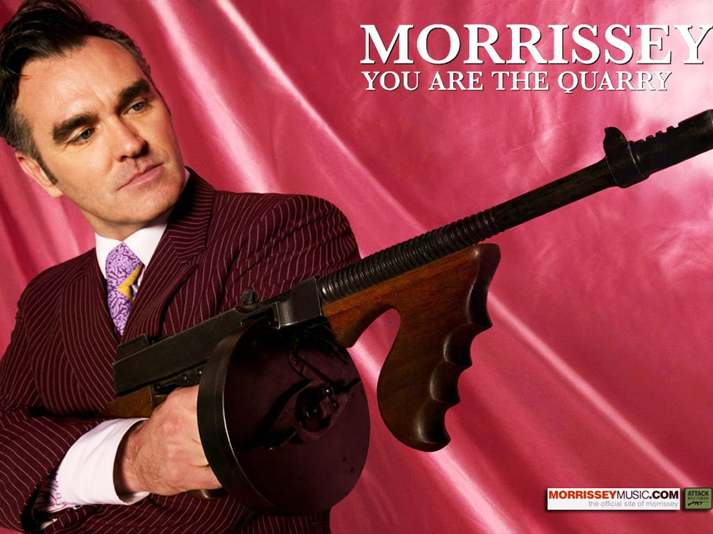 Music Wallpaper: Morrissey - You Are The Quarry