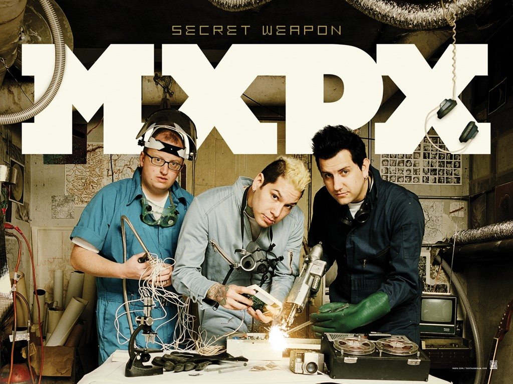 Music Wallpaper: MxPx - Secret Weapon