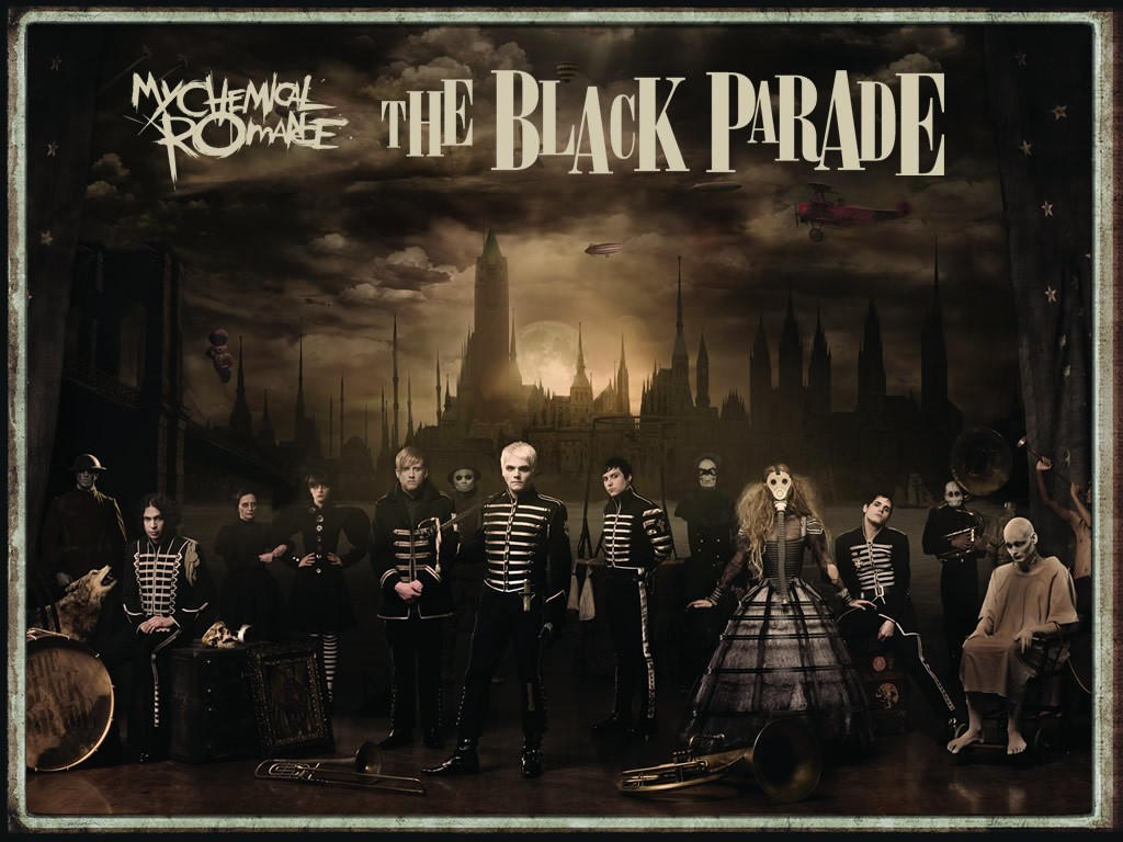 Music Wallpaper: My Chemical Romance - The Black Parade