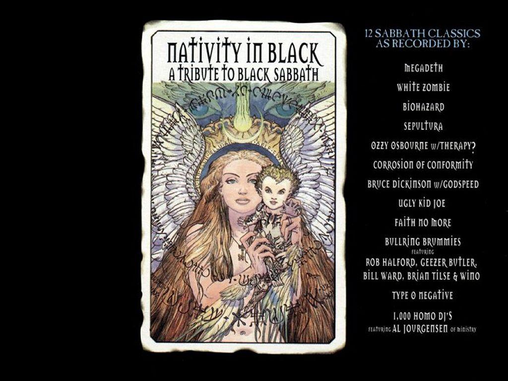 Music Wallpaper: Nativity in Black